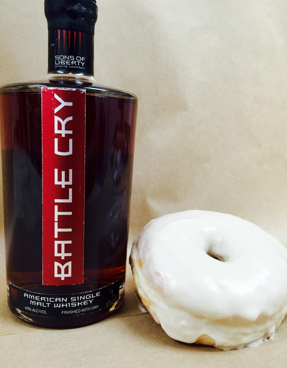 Kanes Whiskey Donut